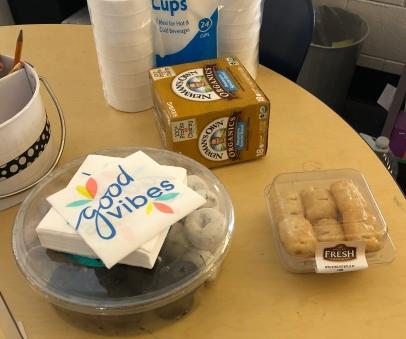 Parent workshop treats