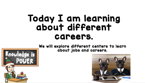 Career centers for classroom guidance