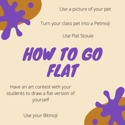 How to go flat